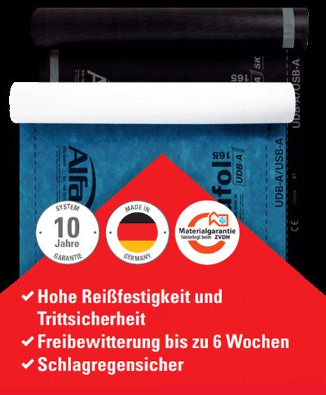 Idividuelle Dachnbahnen - 173 Alfa Rufol UDB-A 165 / SK