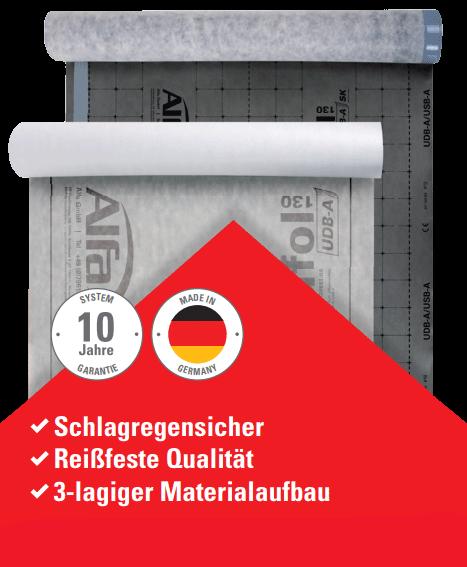Idividuelle Dachnbahnen - 172 Alfa Rufol UDB-A 130 / SK
